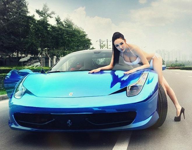 美女车模 汽车频道