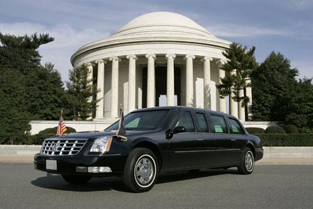 通用汽车为奥巴马打造总统专车高清图片