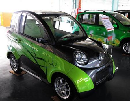 长城汽车公司成功研发出长城欧拉双人座纯电动轿车.据介绍,高清图片