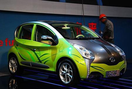 长城欧拉2 太阳能碳纤维与自动刹车 5款概念车玩炫 1 高清图片