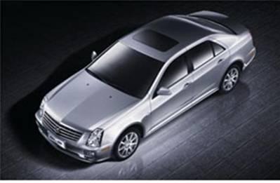 凯迪拉克sls赛威精英型,是凯迪拉克出击豪华商务车市中的后高清图片