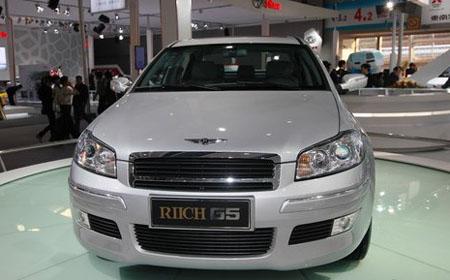 代表中国汽车工业巅峰之作的高性能b级轿车,瑞麒g5凭借备受国高清图片