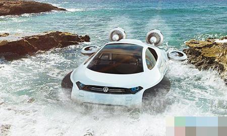 扬名海外 21岁女孩设计水陆两栖概念车-东方网