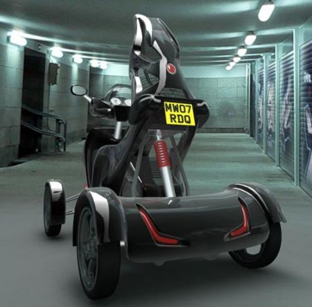 新概念的四轮摩托车