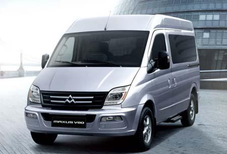 上汽商用车mpv maxus大通v80全球首发高清图片