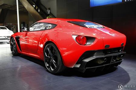 广州车展中国首发 阿斯顿马丁V12 Zagato