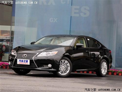 lexus雷克萨斯全新一代es 250车型可享现金优惠1.5万元.详情高清图片