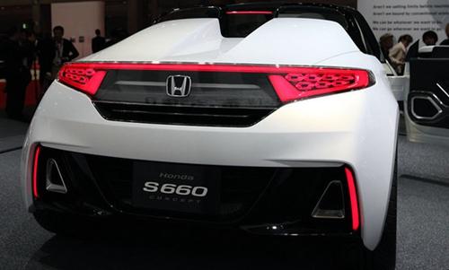 明年上市 本田s660跑车量产版年底发布