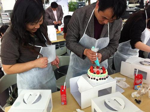 diy创意蛋糕图片