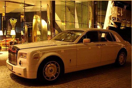 兰博基尼法拉利 迪拜那些豪车出租车高清图片