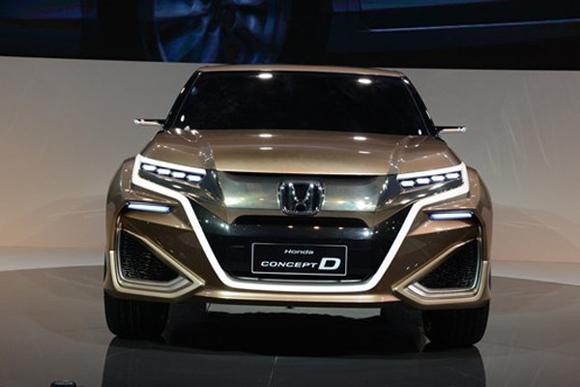 广汽本田新SUV年底上市 或4月北京亮相高清图片