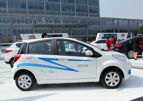 江淮iEV6E电动车高清图片