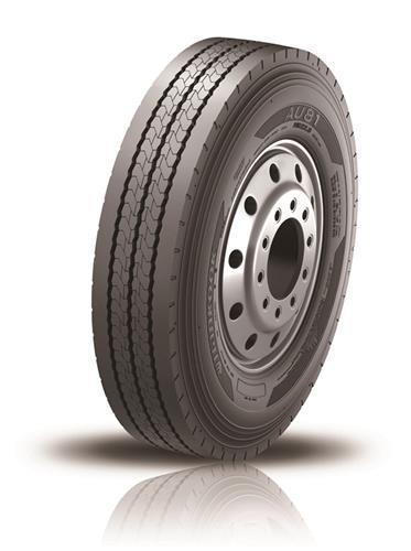 韩泰轮胎为深圳巴士比亚迪新能源公交车提供轮胎高清图片