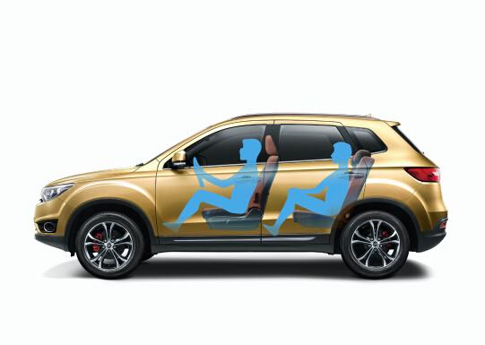 中国一汽森雅r7 1.5t新车型即将亮相上海车展