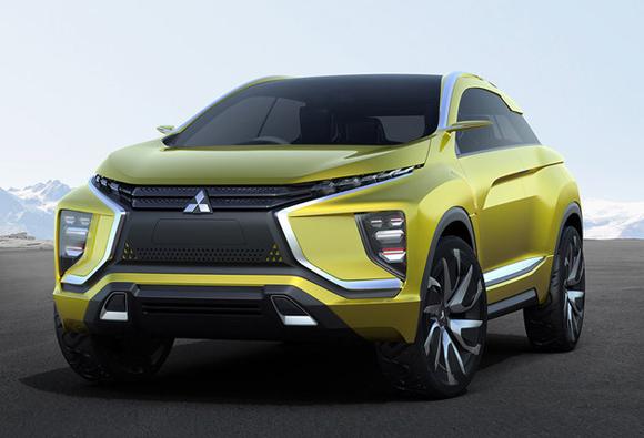 2017上海车展 三菱汽车携2款概念车首秀