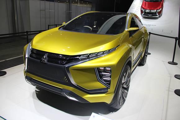 三菱汽车两款SUV概念车中国首秀高清图片