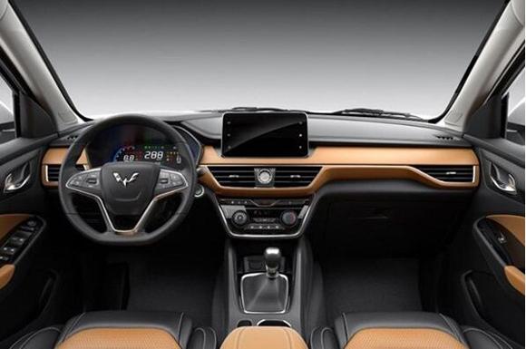 五菱宏光S3内饰官图发布 三排七座SUV高清图片